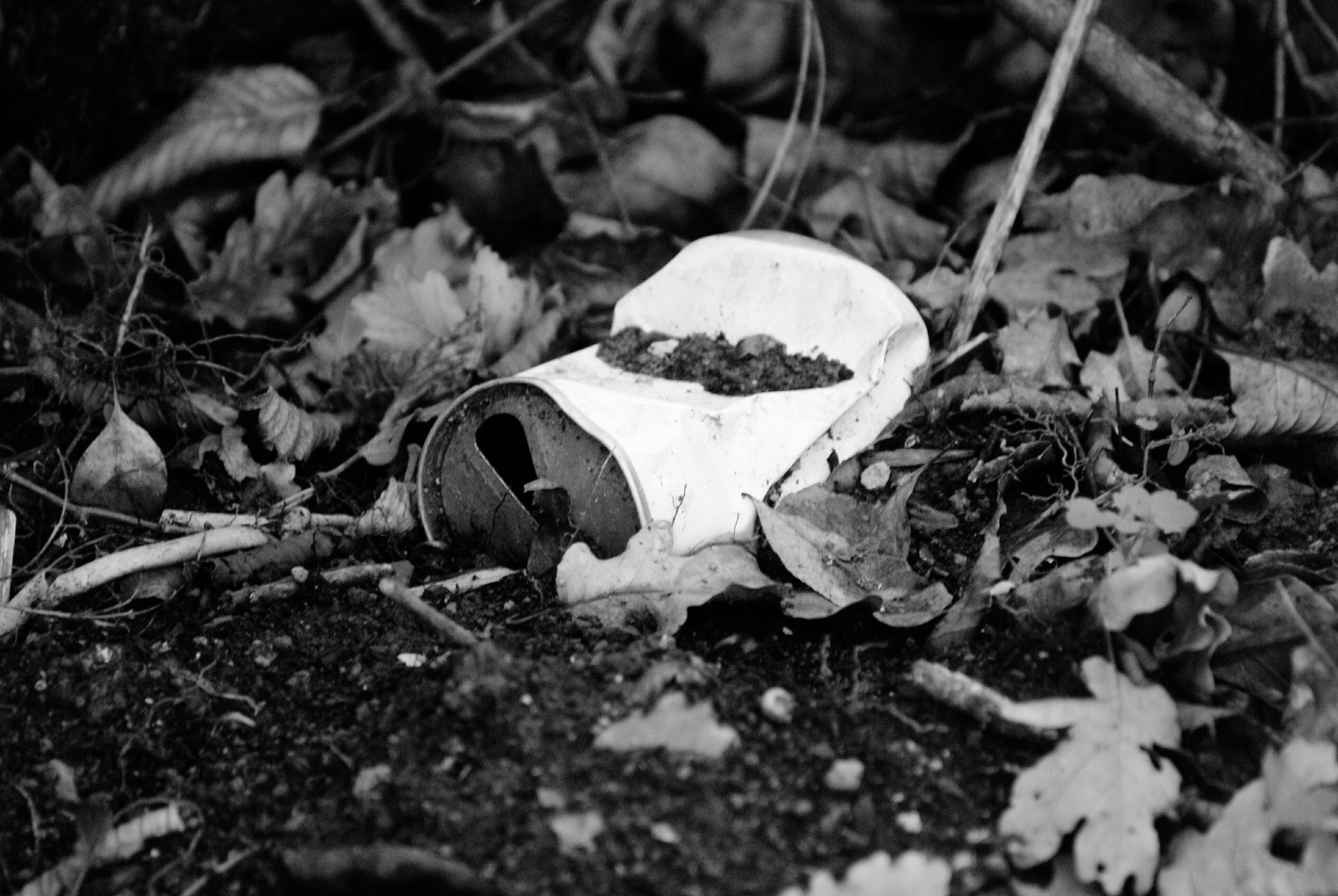 Reflex Can Leafs Abandonedcan Abandoned Can Abandoned Old Usata Schiacciata Foglie Abbandonata Vecchia Lattina Black'n'white  Blackandwhite Black'n'whitephotography Black'n'white Photography Black And White Black & White Blackandwhite Photography Black&white Black And White Photography Blackandwhitephotography