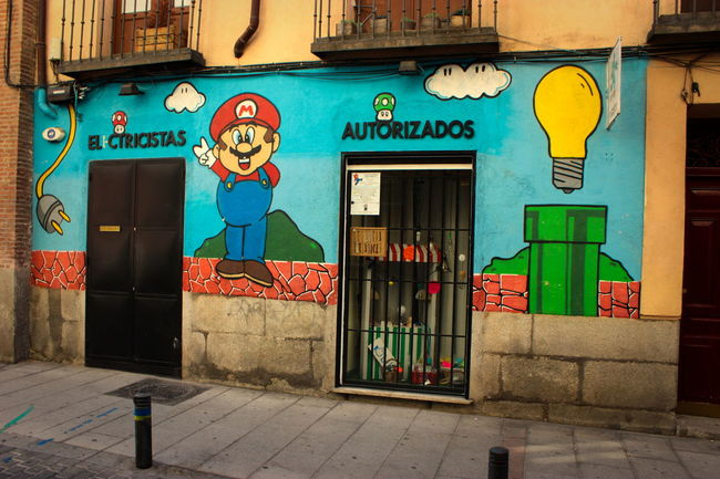 Idea Mario Bros Store Streetphotography Videogames Wall Painting