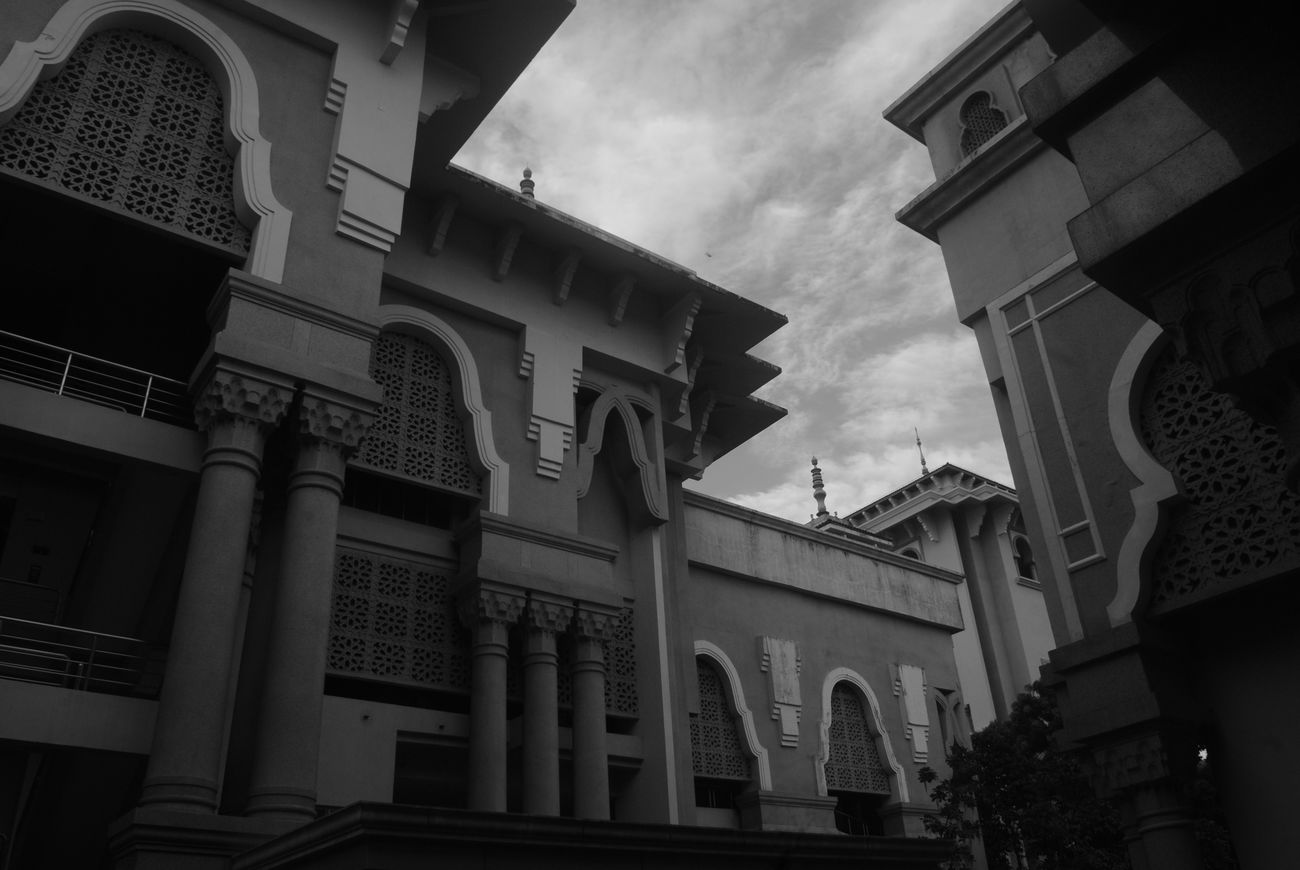 Black&white Architecture Building