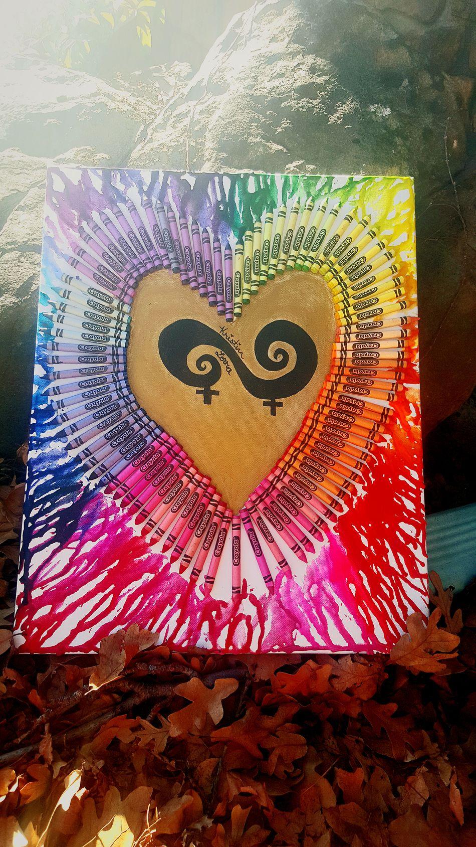 Christmas present I made for my girlfriend Lesbianlove Lesbianswag  Lesbian Pride