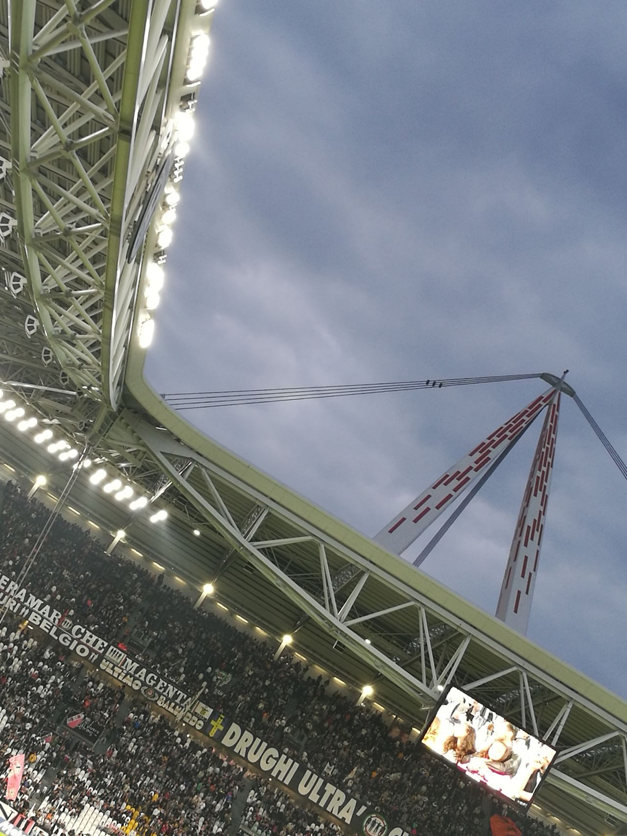 Built Structure Outdoors Football Soccer⚽ Soccer Stadium JuventusFC Juventus Stadium