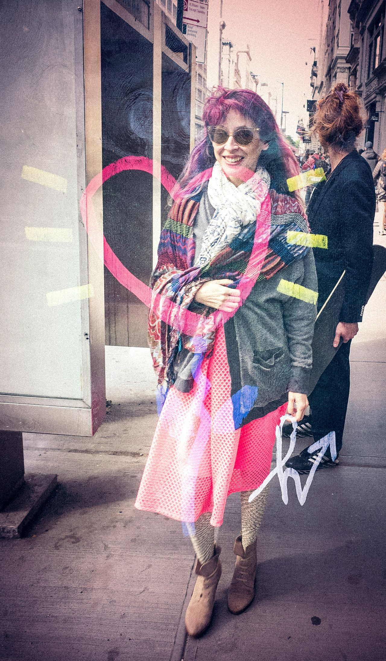 She's in love w Spring in NYC Check This Out Enjoying Life Everybodystreet Streetphotography People Watching Photography Double Exposure Candid Portraits Photo Walk Nyc Helloicp Streetphotomag Nyc Streets Peopleofnyc
