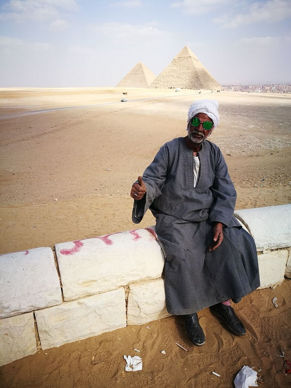 Let's rock it Culture Culture And Tradition Traditional Clothing Shine Bright Goodday Thumb Up! Sunglasses Sunglasses Reflection Sunglass Fashion Mix Culture Very Different Modern Egyptian Egyptian Egyptian Man Egyption Style Egypt