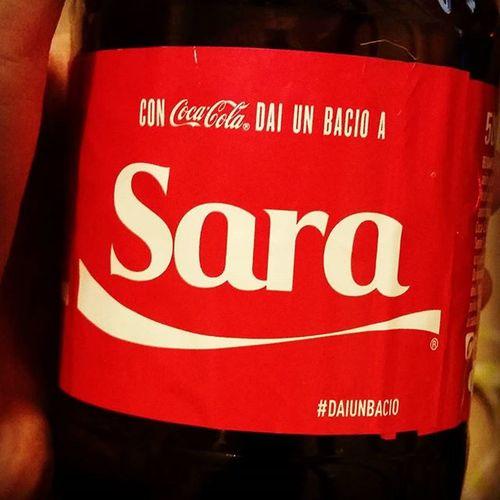 😙😙😙 a me!! Cocacola Daiunbacio Sara 2015