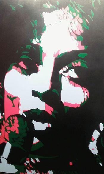 Diana Ross Peinture Peintre Rancillac Peint