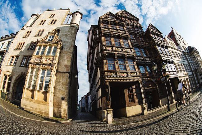 Hildesheim | with my DSLR Architecture Hildesheim EyeEm Best Shots Architectural Detail Historic Feel The Journey Traveling Travel Photography Urban Fisheye Showcase July Check This Out Canon Urban Geometry On The Way