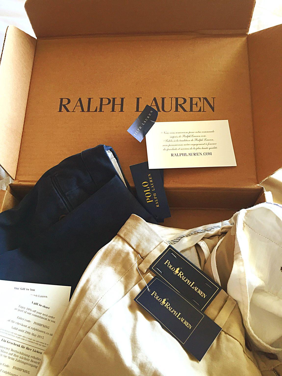 Ralph Lauren for Guanilho Raspaz De Lisboa Calças Novas