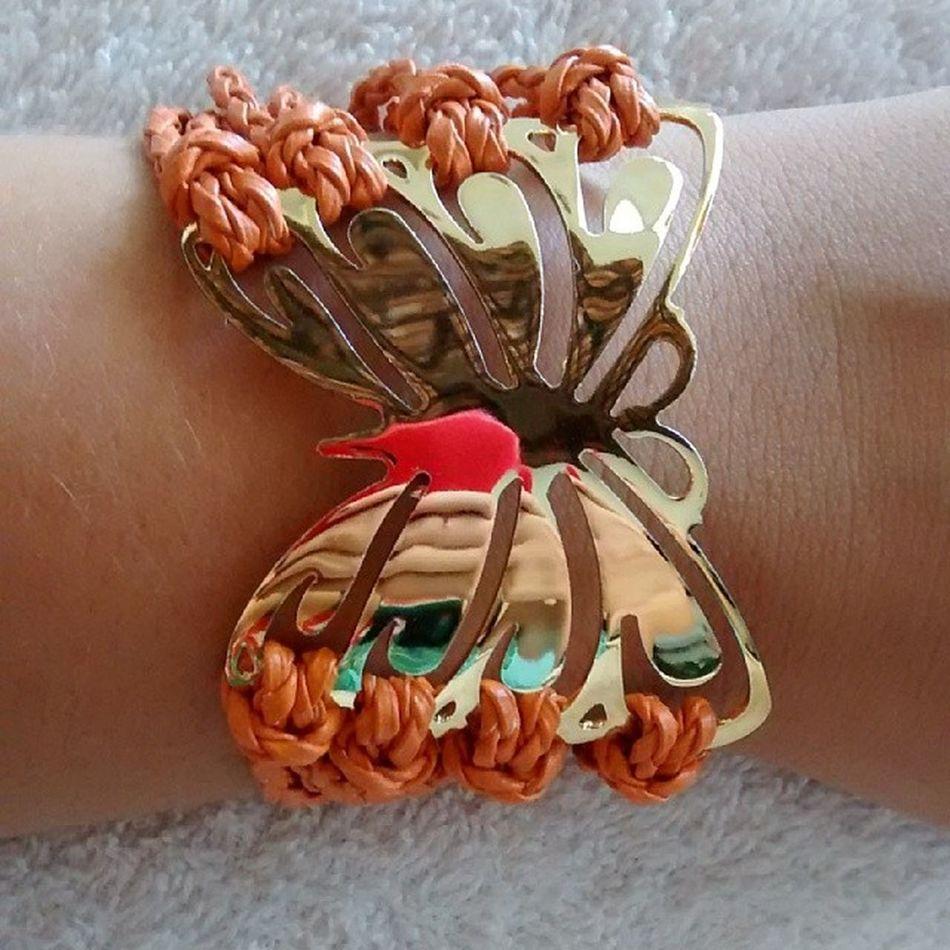 Bracelete borboleta ??? linndoooo meninas. ????? apenas 2 disponíveis. Whats- 81-9658-0825. Saelbiju Pulseirismo