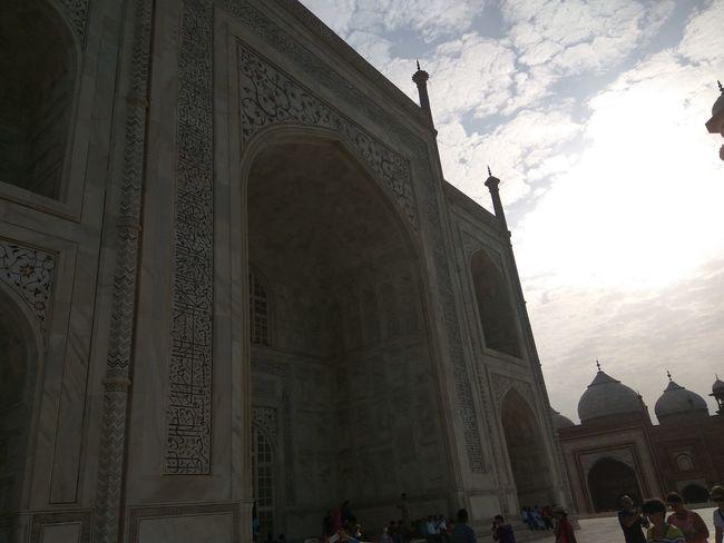 Close view of Taj Mahal First Eyeem Photo