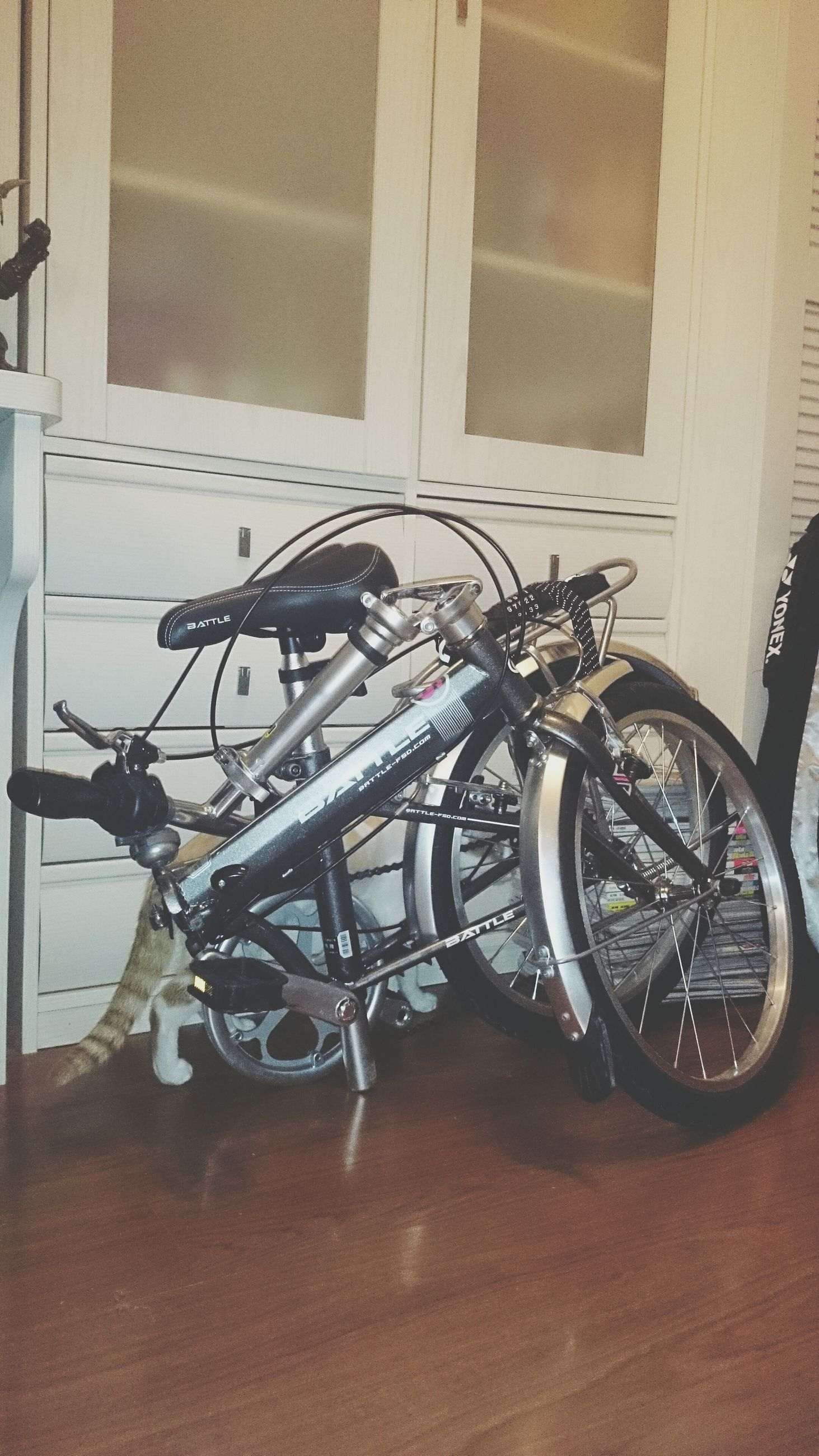 bicycle, land vehicle, architecture, transportation, mode of transport, built structure, stationary, building exterior, wall - building feature, parking, parked, wheel, day, wall, no people, window, outdoors, street, building, house