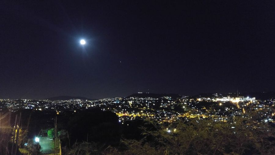 Night Moon Illuminated Full Moon No People Celebration Outdoors Sky Nature Star - Space First Eyeem Photo
