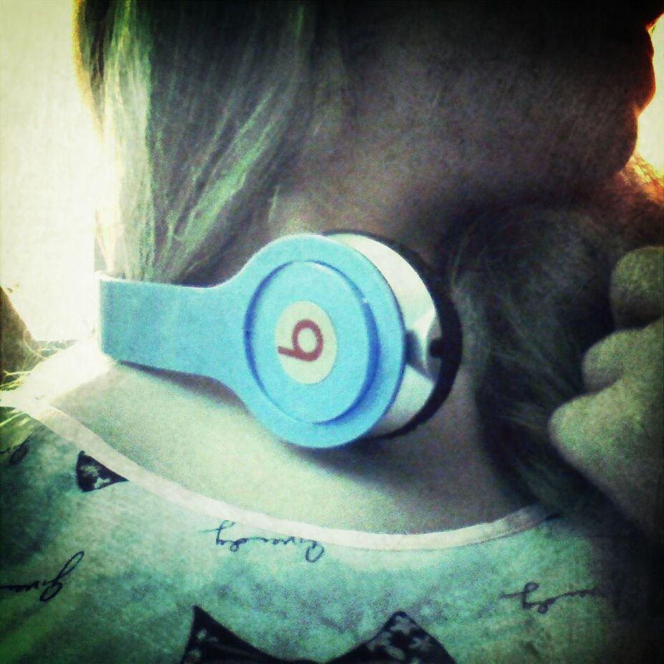 Good music with good headphones. It's great.