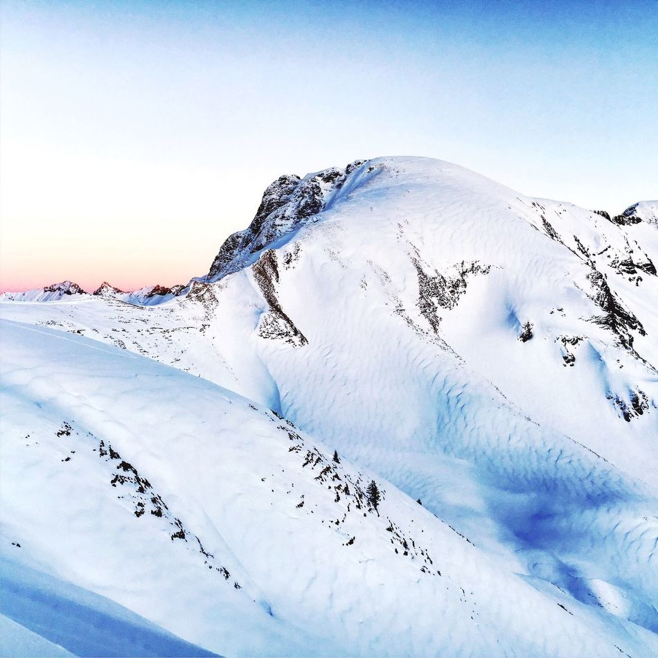 The beauty of nature Nebelhorn Oberstdorf Snow Winter Cold Temperature Weather Nature Beauty In Nature Mountain Outdoors Scenics Sky Day Tranquility Tranquil Scene Landscape No People