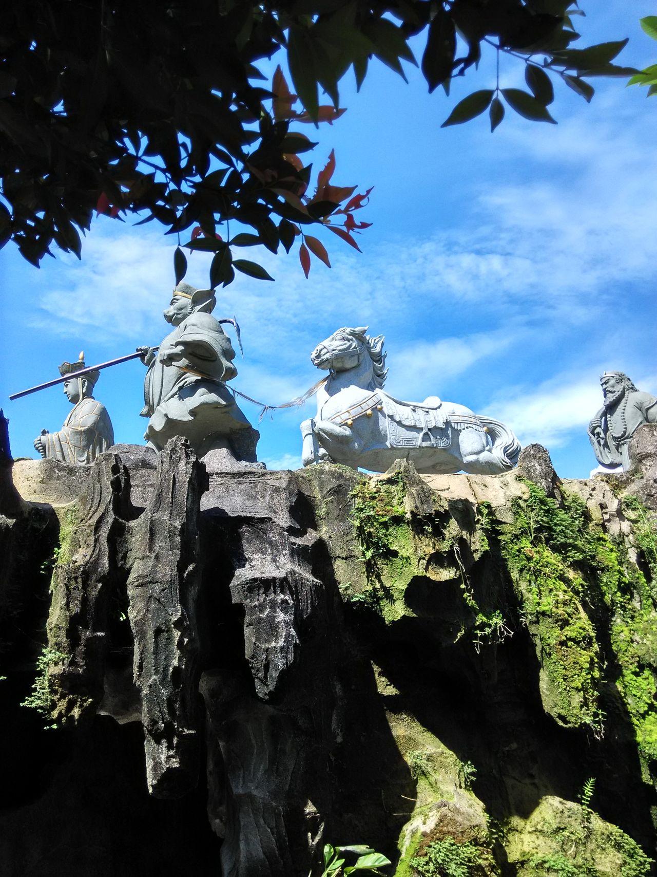 Journey to the west Sculpture Culture Art ArtWork Statue Taman Mini Indonesia Indah