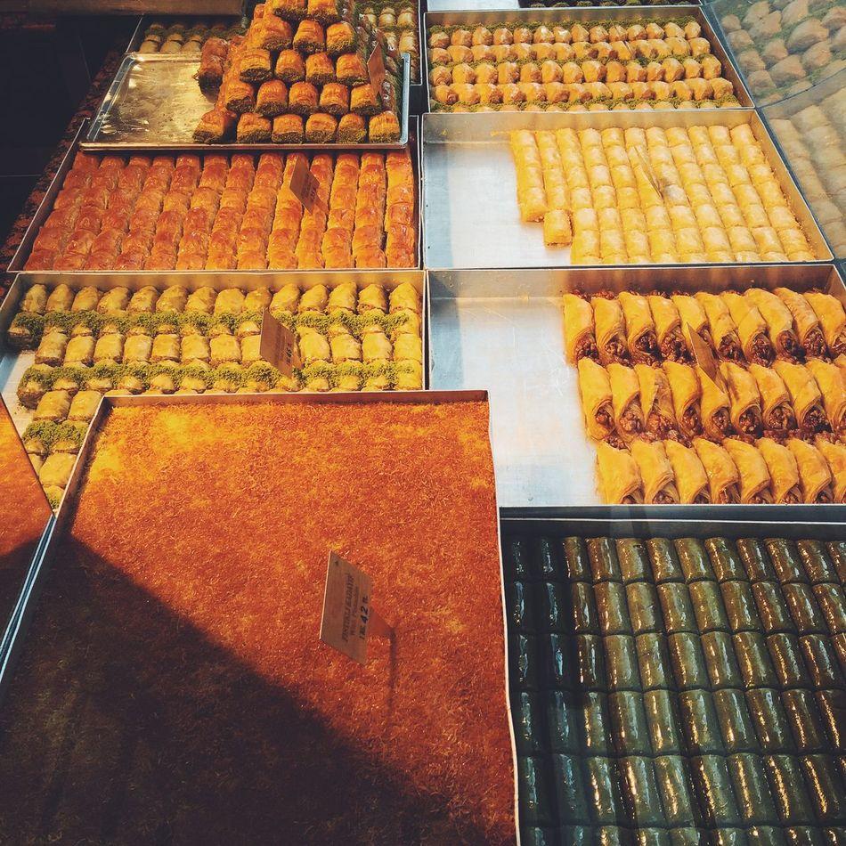 Turkish delight Baklava Delicious Dessert Food Foodporn Istanbul Meal Pahlawan Sweet Sweets Travel Turkey Turkish