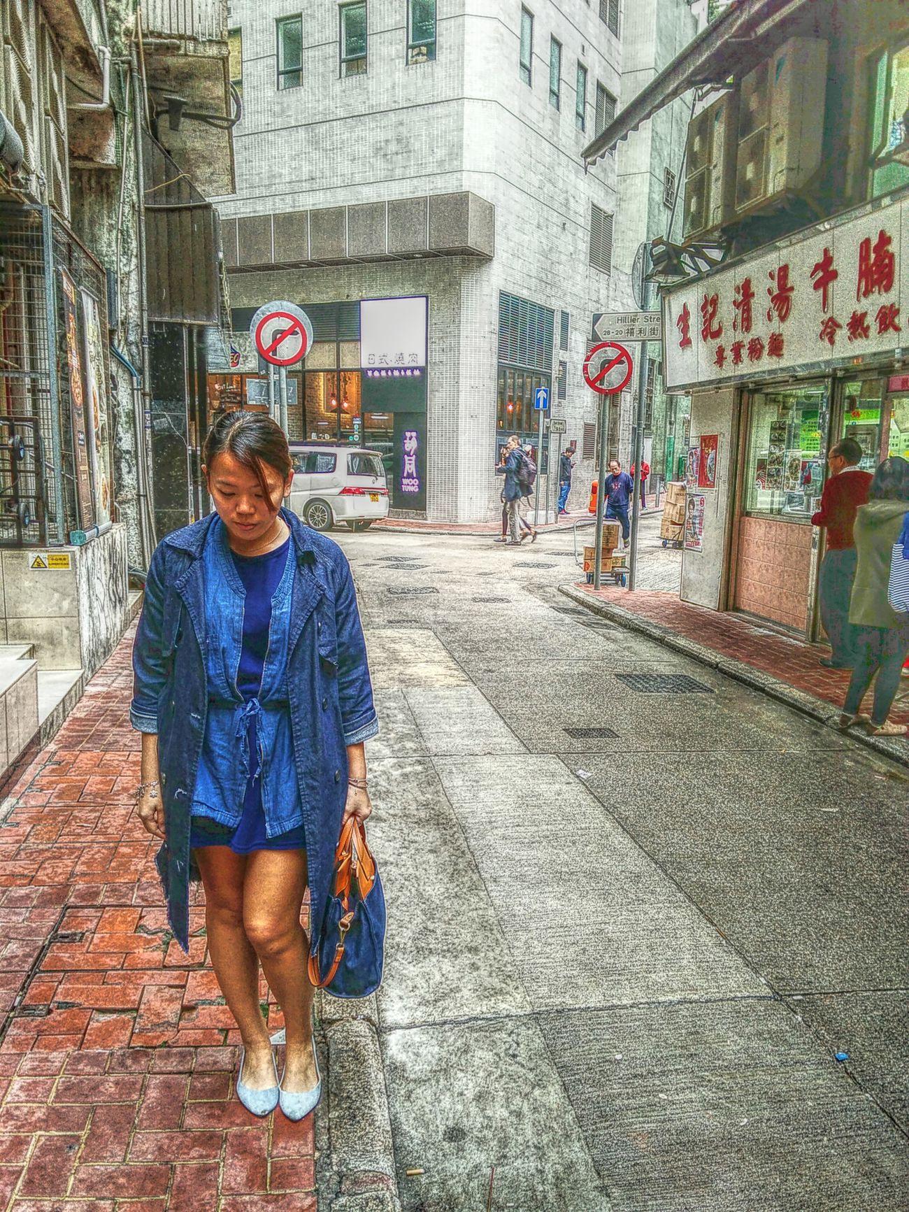 Hong Kong Hongkongcity Hongkongstreet Hongkonglife Sheungwan Sheung Wan Jeansjacket
