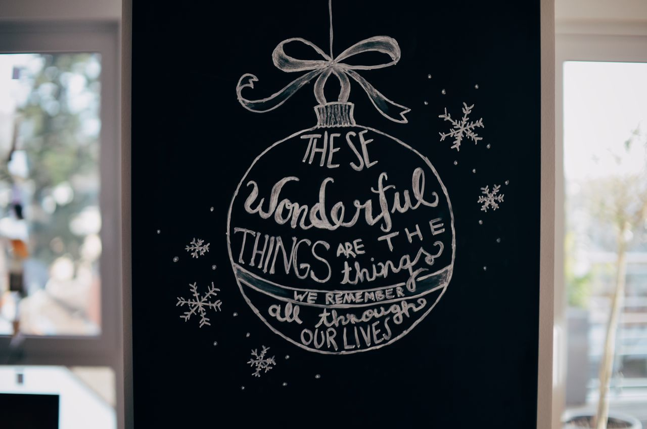 Chalk Typography Astrology Sign Blackboard  Chalk Chalk Art Chalkboard Christmas Christmas Decoration Christmas Typography Close-up Day Handwriting  Indoors  No People Non-western Script Sketch Text Typography Typographyinspired
