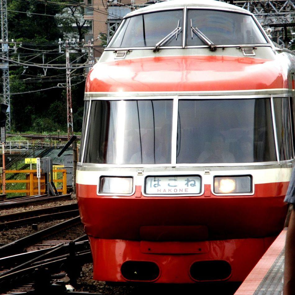 ロマンスカー 小田急 乗り物 はこね 鉄道 Train Trains