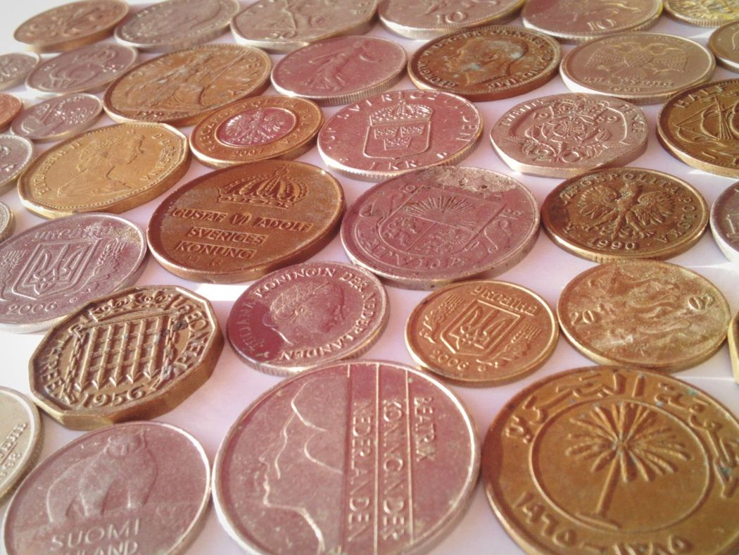 Taking Photos Different Angle Different Colors Different Countries Old Coins Coins On The Table EyeEm Gallery