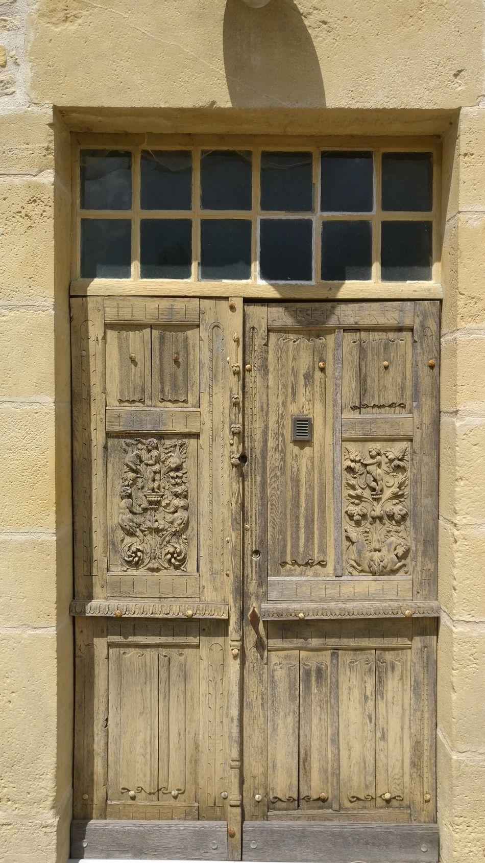 A fine door. Weathered Timeless Antique Porte De Entre. Front Door Through My Lens Old Building  Vintage Architecture