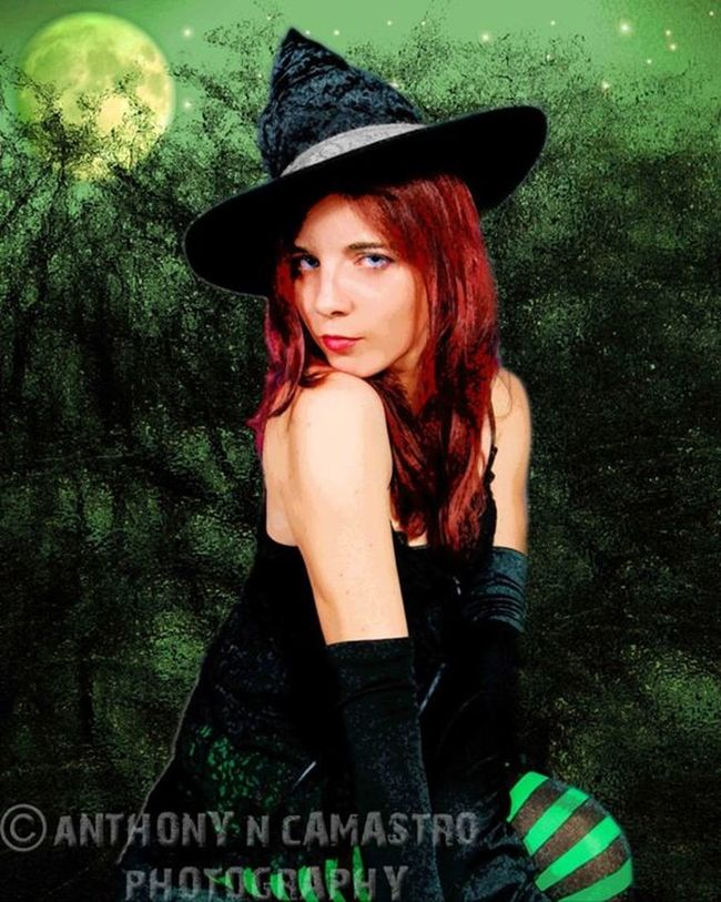 Portrait Of A Woman Witchcraft  Wiccan Pagan