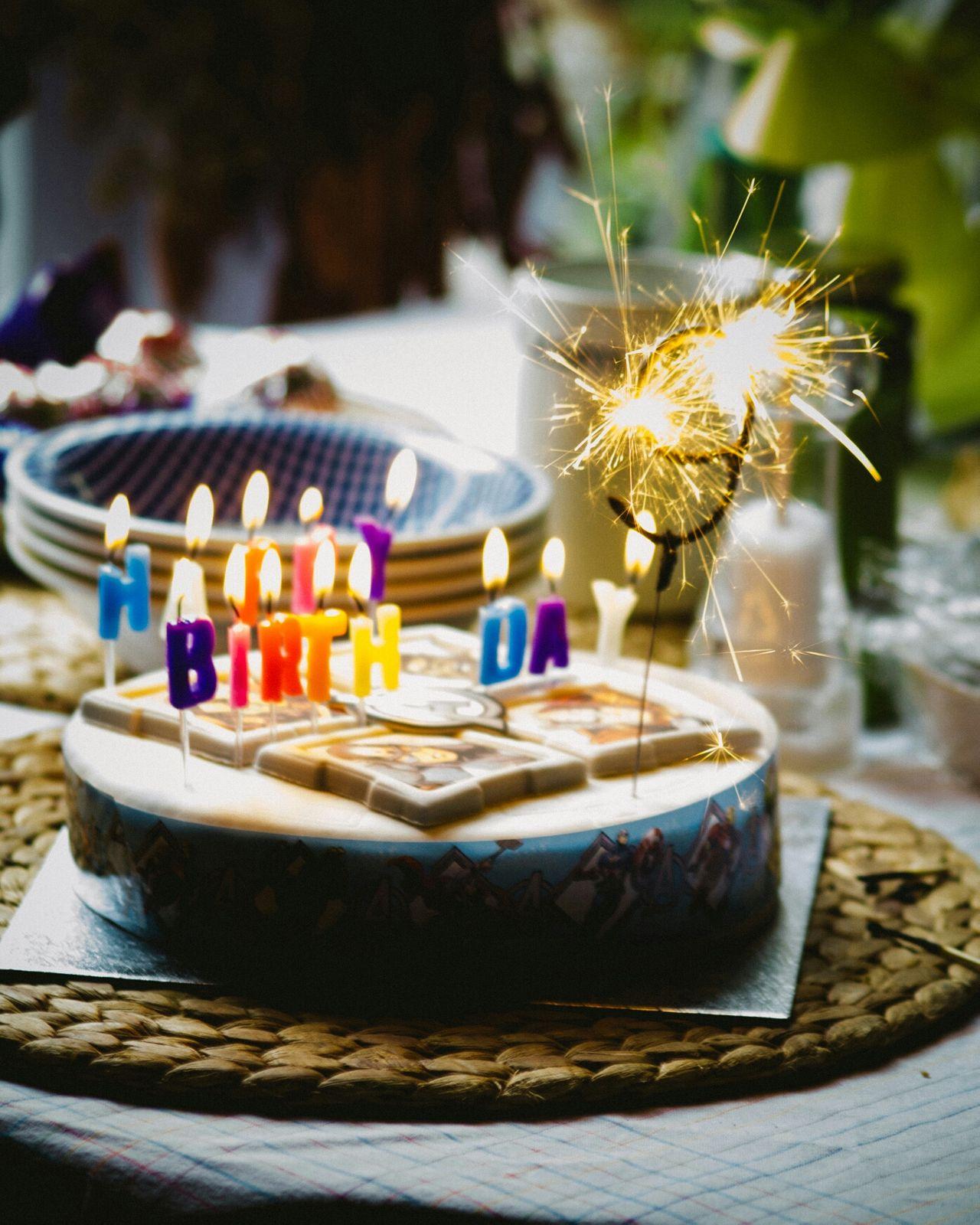 Birthday Birthday Cake Sparkler