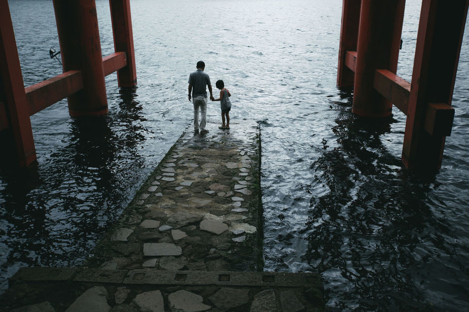 Beautiful stock photos of father, Bonding, Built Structure, Casual Clothing, Daughter