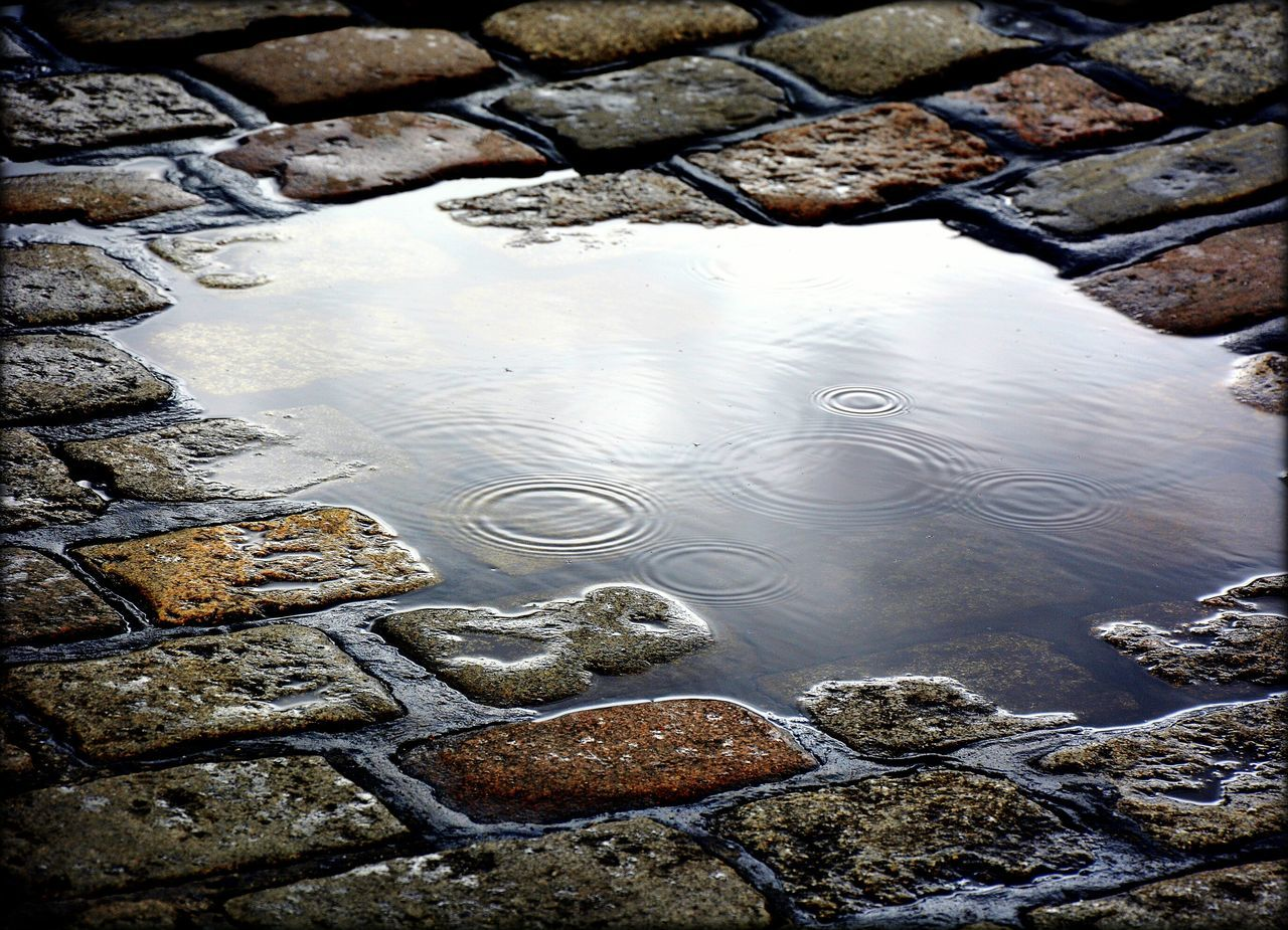 Beautiful stock photos of water, Cobblestone, Day, Elevated View, Germany