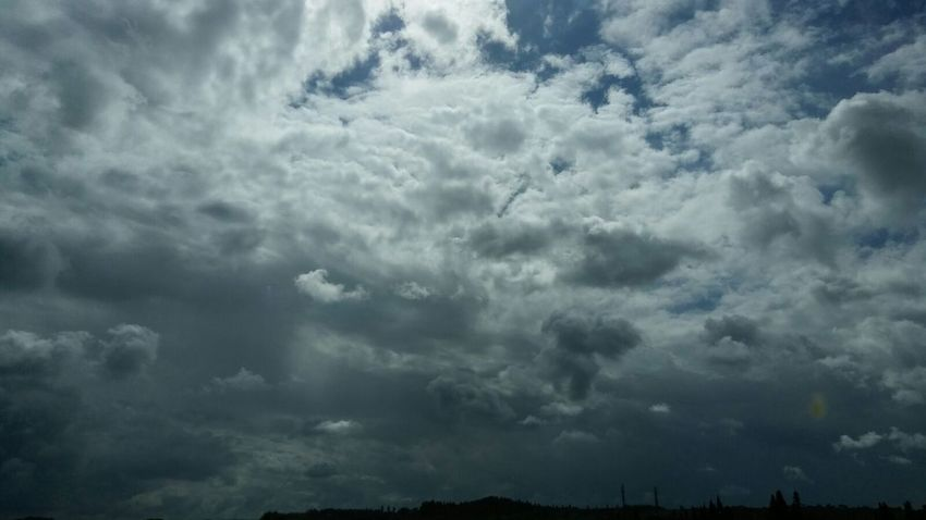 Stormy weather Atmospheric Mood Backgrounds Beauty In Nature Cloud - Sky Cloudscape Dramatic Sky Nature No People Outdoors Overcast Sky Storm Storm Cloud Thunderstorm Tranquility Weather