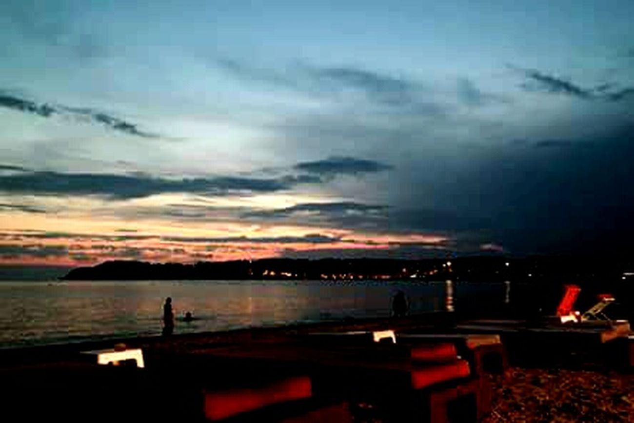 Summer 2015  Sanary Sur Mer Le Sud France Plage Coucher De Soleil