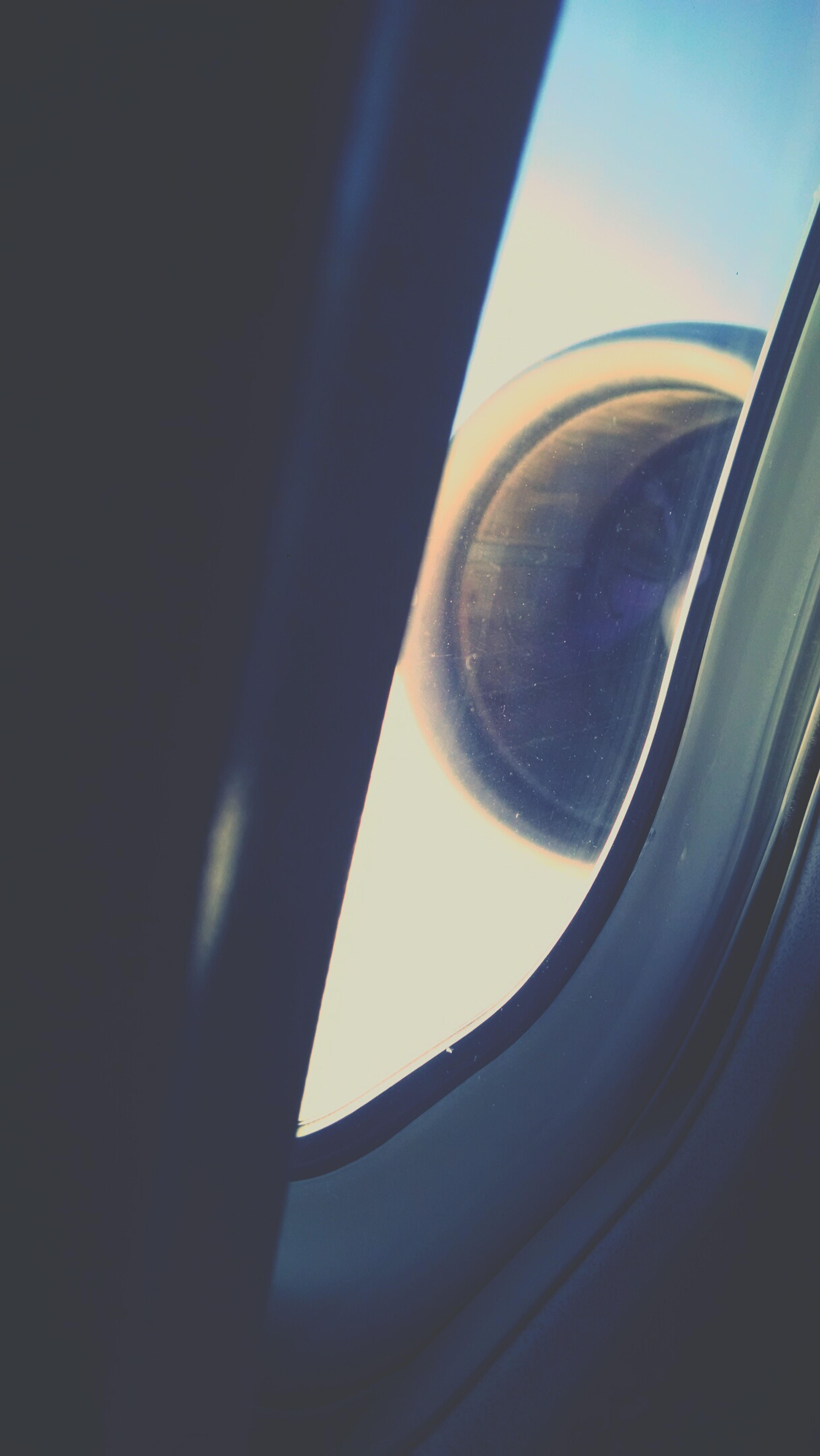 From An Airplane Window Md80 JT8D