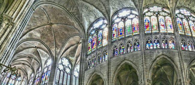 Basilique Saint Denis Church Old Church Architecture Architecture Details Monument France Sanctuary  Stainedglass