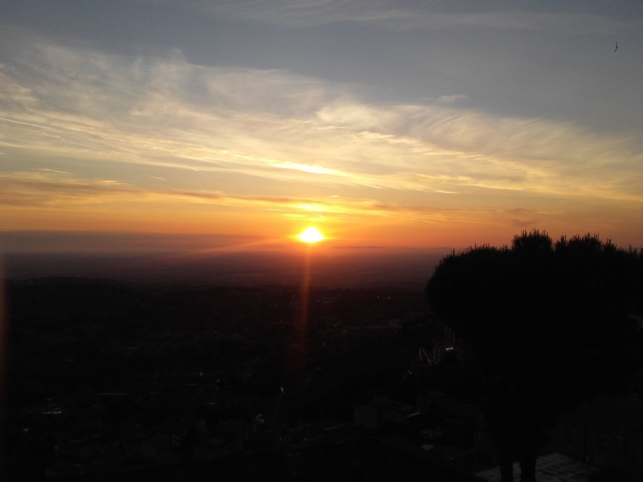 Roccadipapa Sunset View