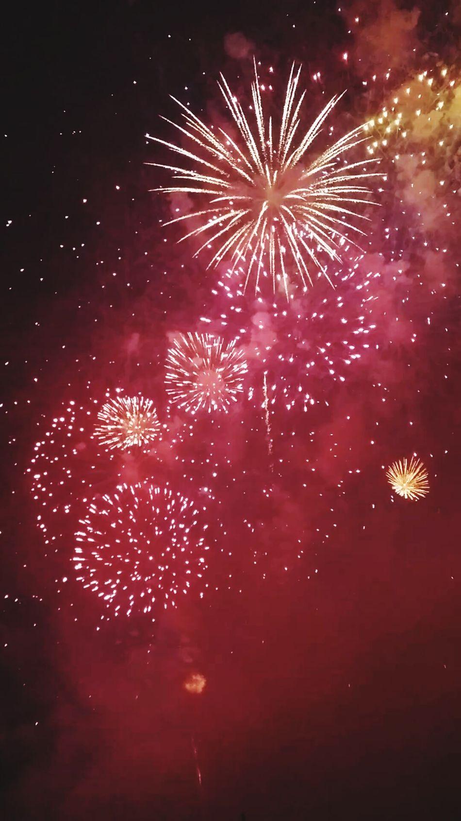 Feux D'artifices Feuxdartifice Celebration Rouge Couleurs Couleurs Color Colors