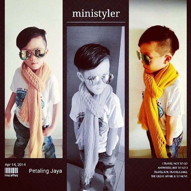 Ministyler marcus jay new hair cut