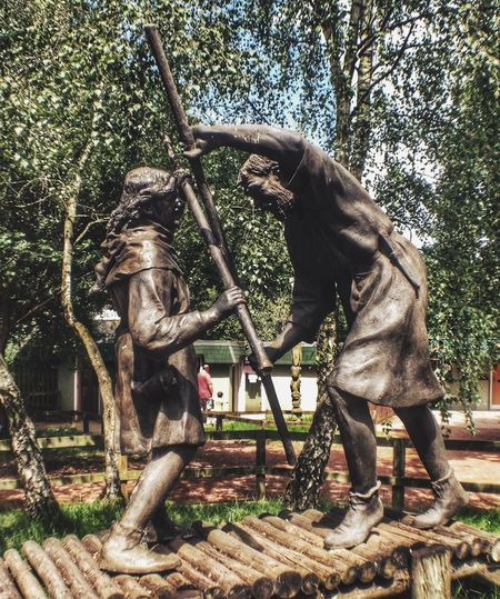 Statue of Robin Hood and Little John EyeEm Best Shots Eye4photography  Being A Tourist IPhoneography