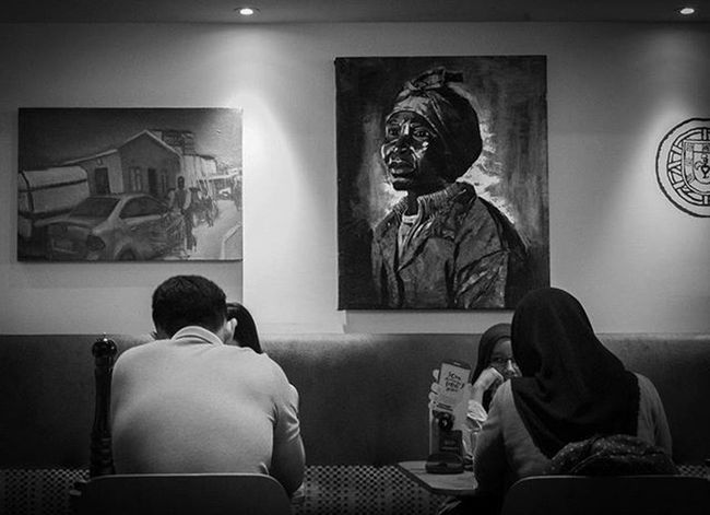 The more of it I saw, the more of it I wanted to see. - Fine Art - Photography Fineart Art Eat Instagram Instadaily B &w Blackandwhite Photographer Nikon Meaning Practice Needimprovement Nandos Nusentral Malaysia Kualalumpur