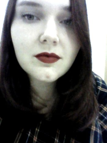 Hi! Hello World Love <3 Darklips Beautiful Beauty Lips Relaxing Eyes Red Lips Hi