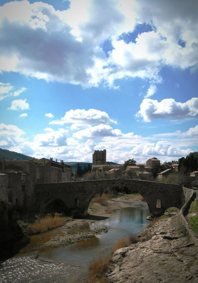 Old Buildings Old Village Bridge Lagrasse River Medieval Architecture MedievalTown LanguedocRoussillon Southoffrance Abbey Stonehouse Clouds And Sky Medieval House Cathar Country Village Villagemedieval Payscathare Riviere Abbaye Aude Village View Ancient Ancient City Vieux Village Ciel
