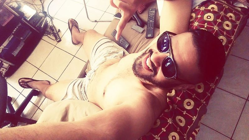 Enjoying The Sun Relaxing Soaking Up The Sun RebelHeart Beardgame Gayswag Homoswag Beardswag That's Me Gaynyc