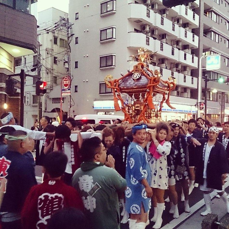 Omikoshi Japan Omatsuri Festival Omikoshi