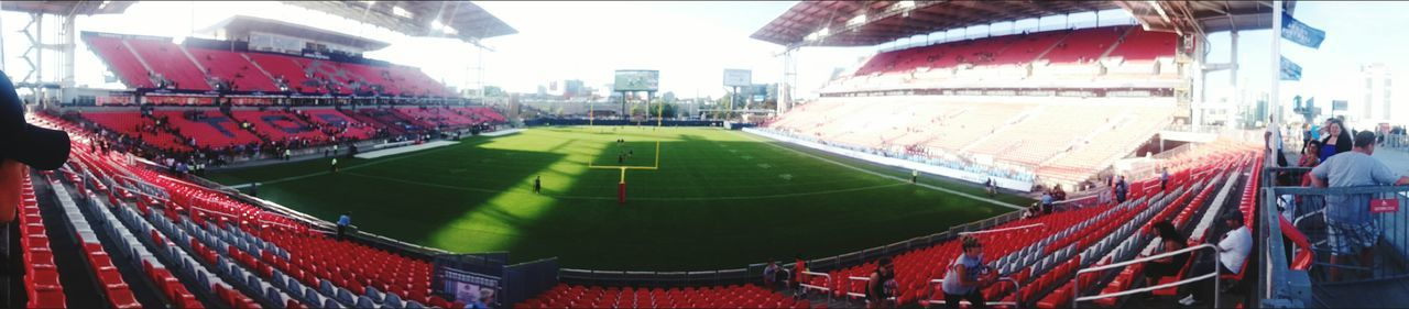 Pre season game Argos beat tigercats Sony Z2 Photography Toronto My City Ontario, Canada Toronto Argos Bmo Field Panorama View