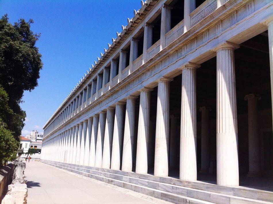 Beautiful stock photos of athens, Architectural Column, Architecture, Athens, Building Exterior