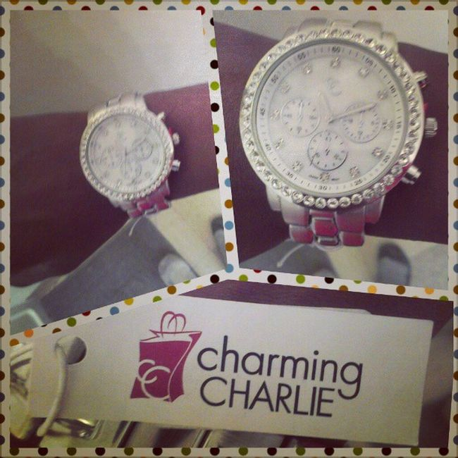 #boyfriendwatch from #charmingcharlie. This store is fantastic. I may or may not go on purse binge there over the weekend. #jewelrystore Watchwednesday Fashionfair Fashion Watch Jewelry Silver  Acessories Designer  Rhinestones Charmingcharlie Materialistic Boyfriendwatch Jewelrystore Materialgirl Fashionfairmall Fashionfairfresno