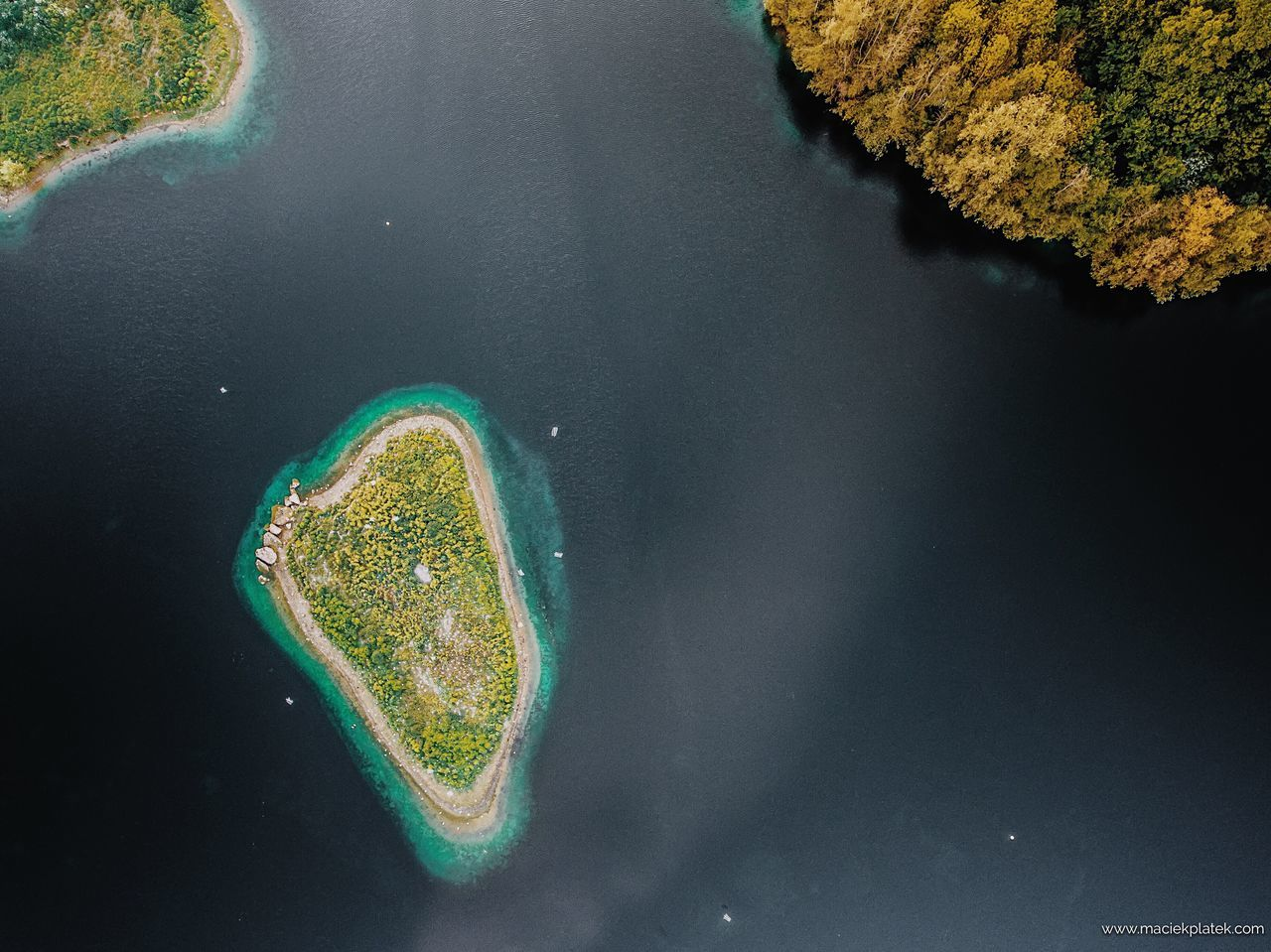 English Tropical Island Water Nature Beauty In Nature High Angle View Lake No People Outdoors Day Aerial Dji