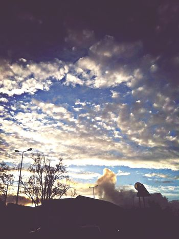 The sky, again