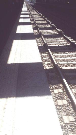 Blackandwhite Shadow Outdoors City Geometric Photgraphy Architecture Urban Railwaystation