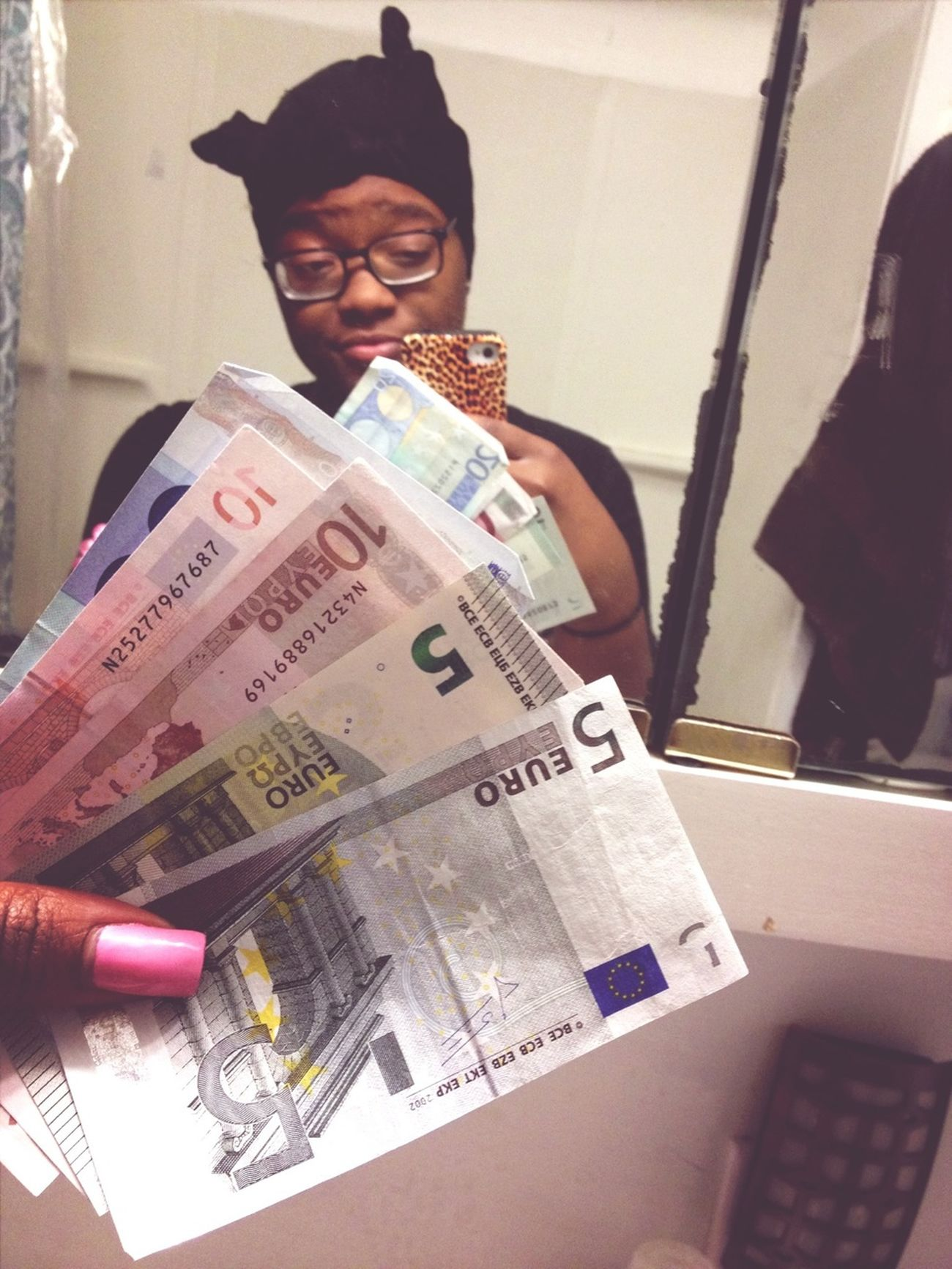 Money Euros $tack$