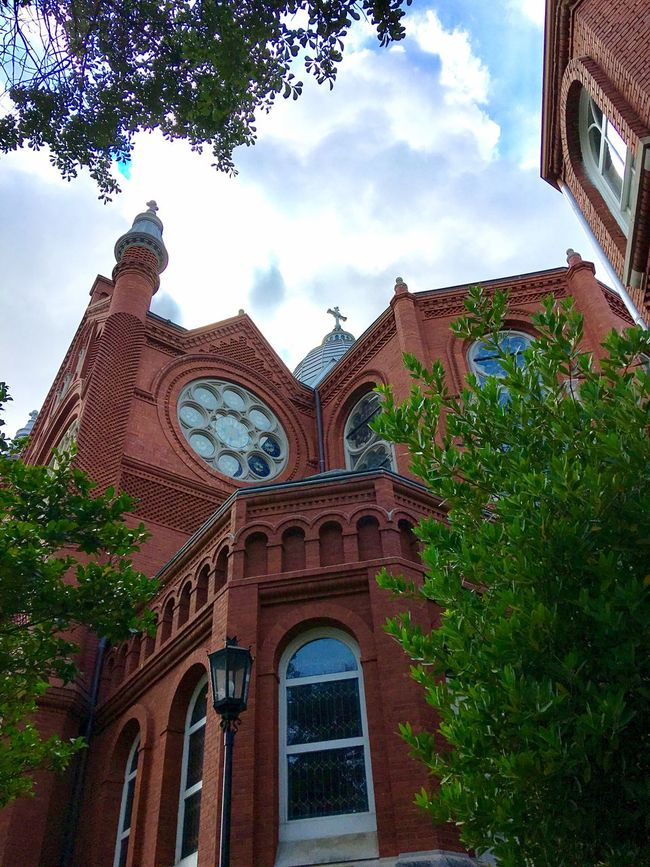 Historic Augusta Architecture Building Exterior Place Of Worship Spirituality Church Sky History Low Angle View