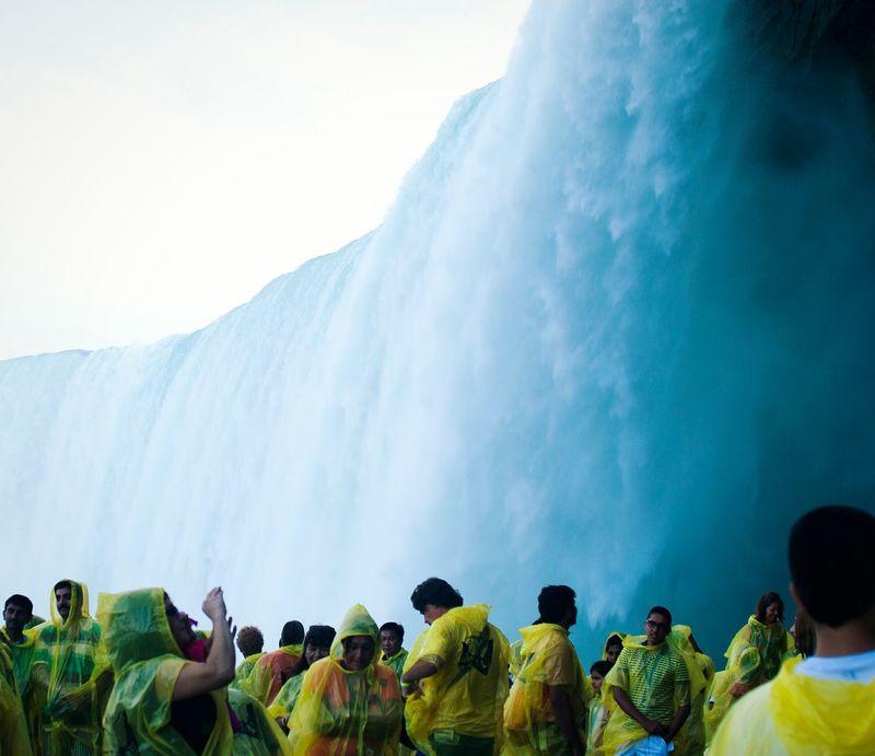 Niagara Falls Waterfall Tourism Tourists Water Blue Adventure Wet Canada Ontario Niagara Neighborhood Map The Great Outdoors - 2017 EyeEm Awards